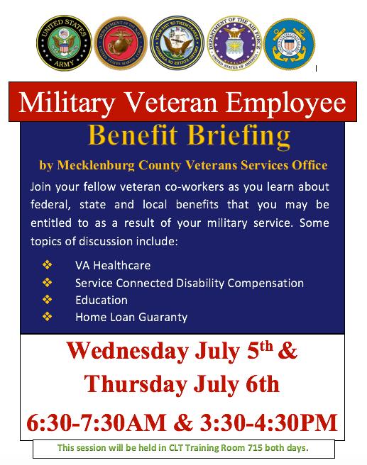 Military Veteran Employee Benefit Briefing Victory Lodge